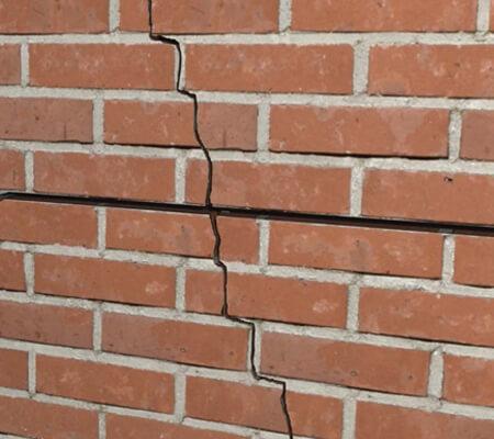 repairing cracks in a wall