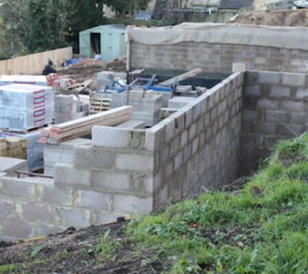 External Waterproofing for basements