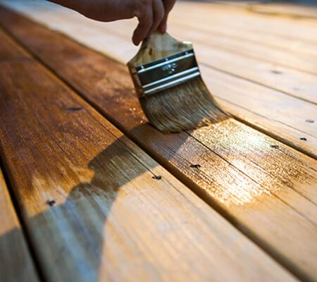 garden decking treatment