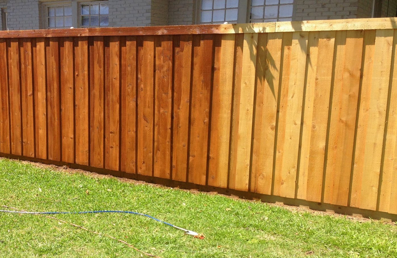 How to paint and treat fences permagard - How to paint a wood fence ...