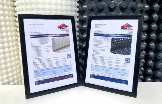 BBA approval for PermaSEAL waterproofing system