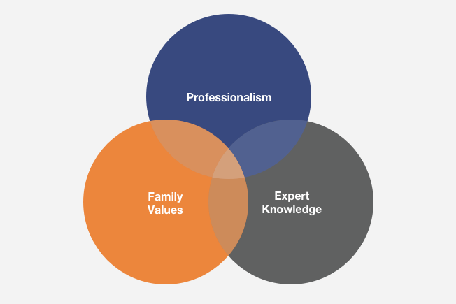 permagard values diagram professionalism