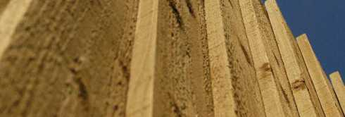 fence panel wood treatment