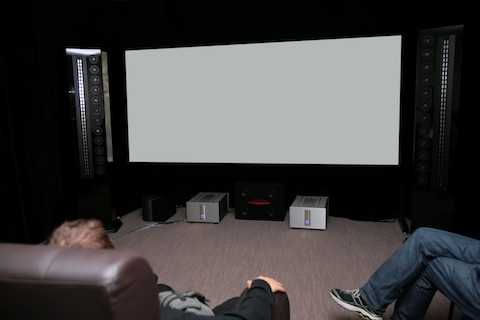 seating arrangements in home cinema