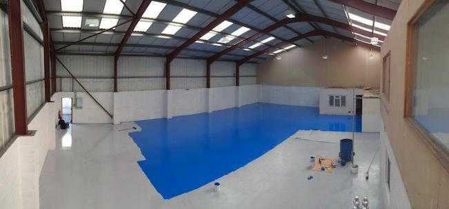 epoxy flooring warehouse