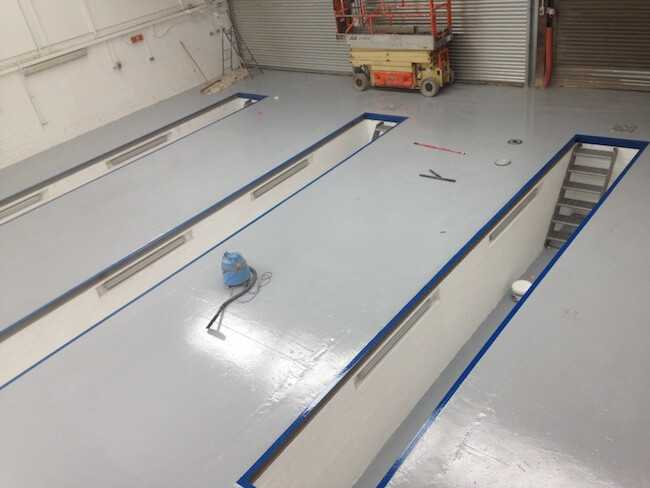 How To Install Epoxy Flooring Laying An Epoxy Floor