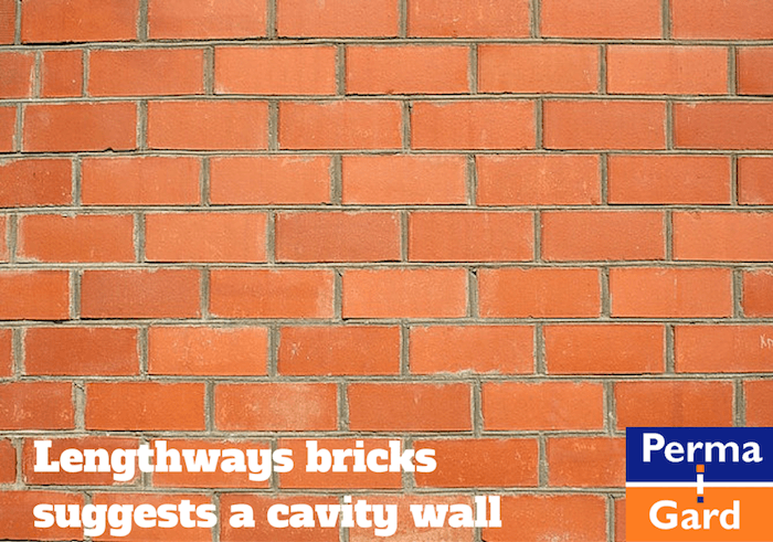 identifying a cavity wall for wall tie replacement