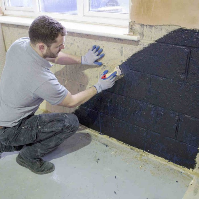 Permaseal Damp Proof Paint 5 Litres, How To Seal A Damp Basement Wall