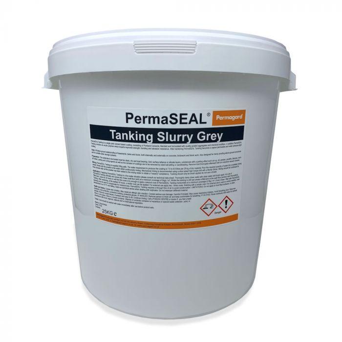 PermaSEAL Tanking Slurry Grey 25kg Bucket image