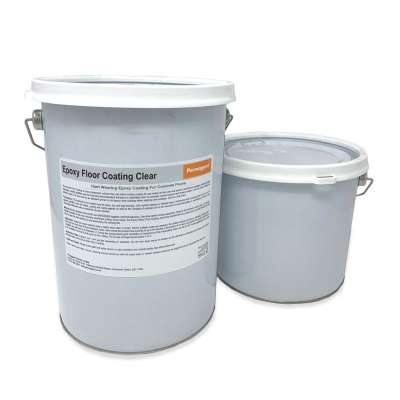 Epoxy Resin Floor Coating Clear 5kg