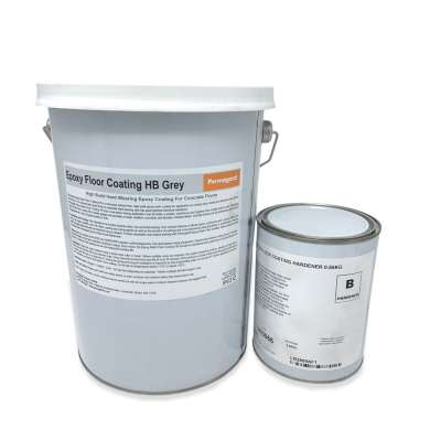 Epoxy Resin Floor Coating HB Grey 5kg