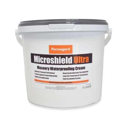 Microshield Ultra 5 Litre - Masonry Waterproofing Cream