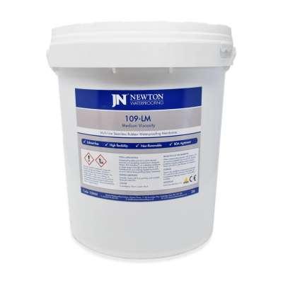 Newton 109-LM / MV - Seamless Rubber Waterproofing Membrane 20L