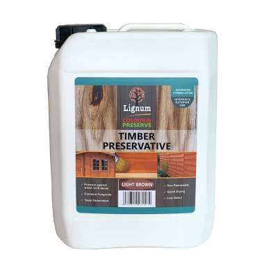 Lignum Coloured Wood Preserver 5L
