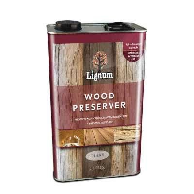 Lignum Wood Preserver 5 Litres
