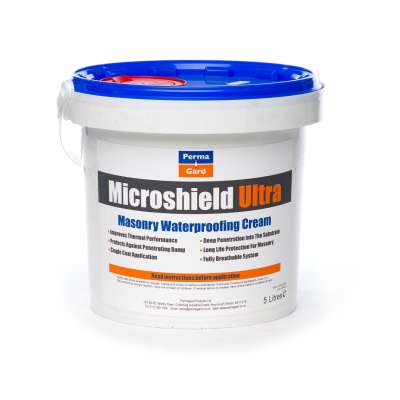 Microshield Ultra 5 Litre - Masonry Waterproofing Cream