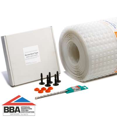 PermaSEAL 8 Clear 40m² Waterproof Membrane Kit With BBA