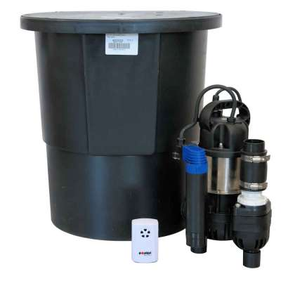 Platon Aqua Cellar Sump Pump Kit