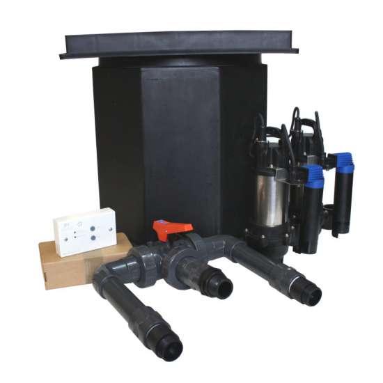 Perma Seal Basement Sump And Dual Pump System