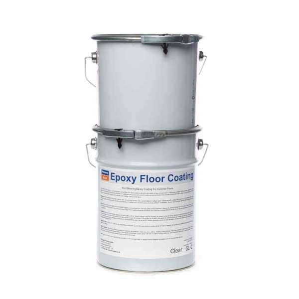 Epoxy Resin Floor Coating Clear 5kg