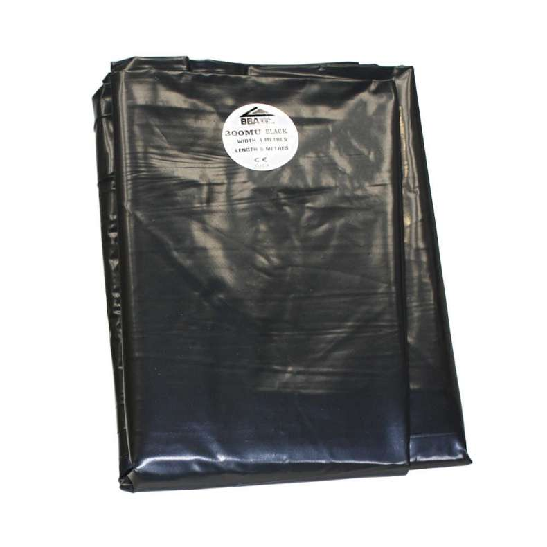 Damp Proof Membrane Black (BBA) Handy Pack - 300mu 1200 gauge
