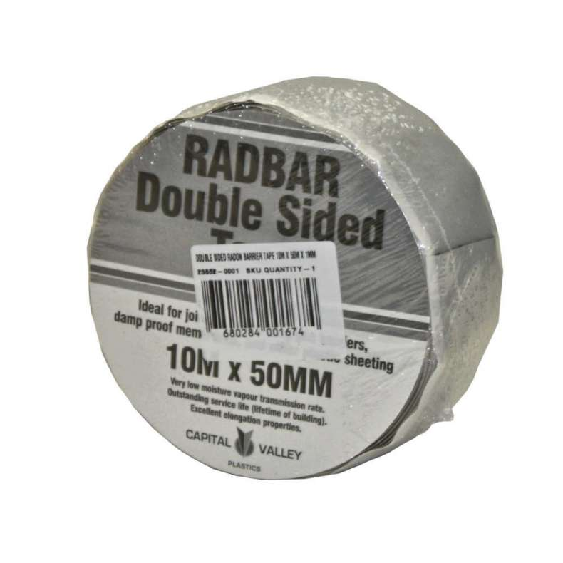 Radbar Double Sided Tape 50mm x 10m