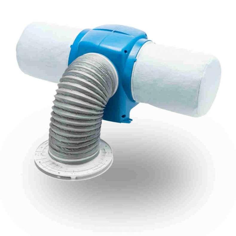 Nuaire Drimaster Eco (Positive Input Ventilator) + Loft Control