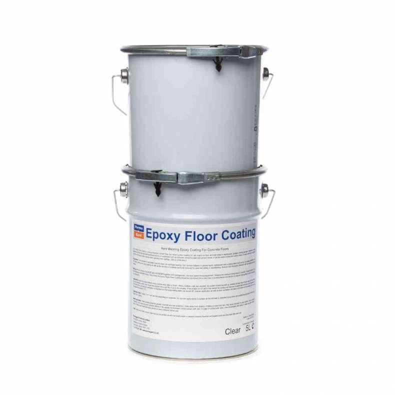 Epoxy Resin Floor Coating HB Grey
