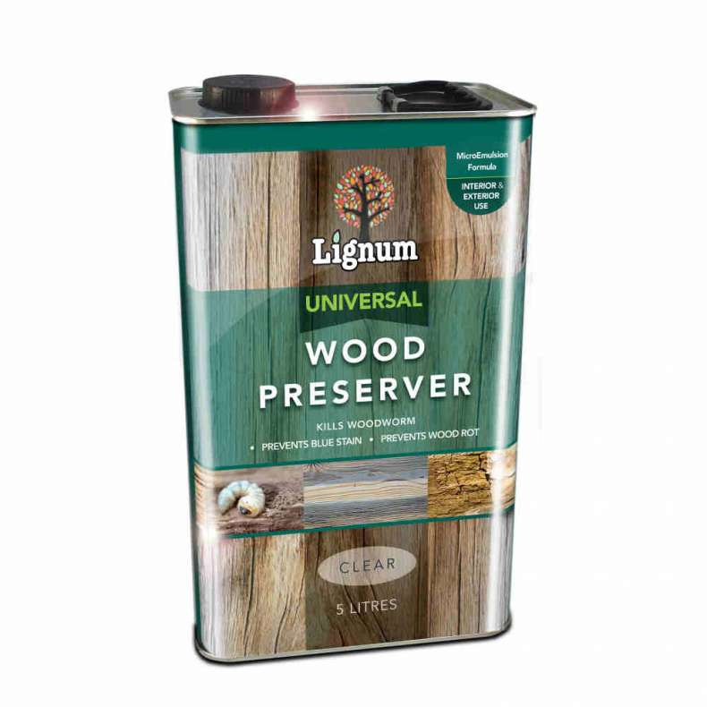 Lignum Universal Wood Preserver 5 Litres