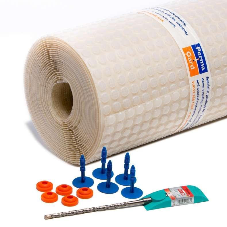 PermaSEAL 3 Damp Proof Membrane Kit 20m² hi res
