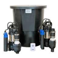 Platon Aqua Cellar Sump Twin Pump Kit