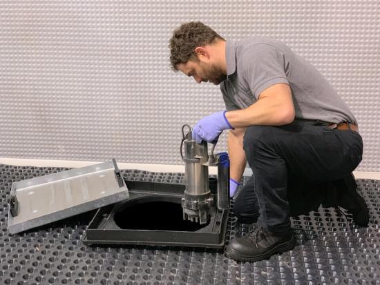 basement sump pump installation