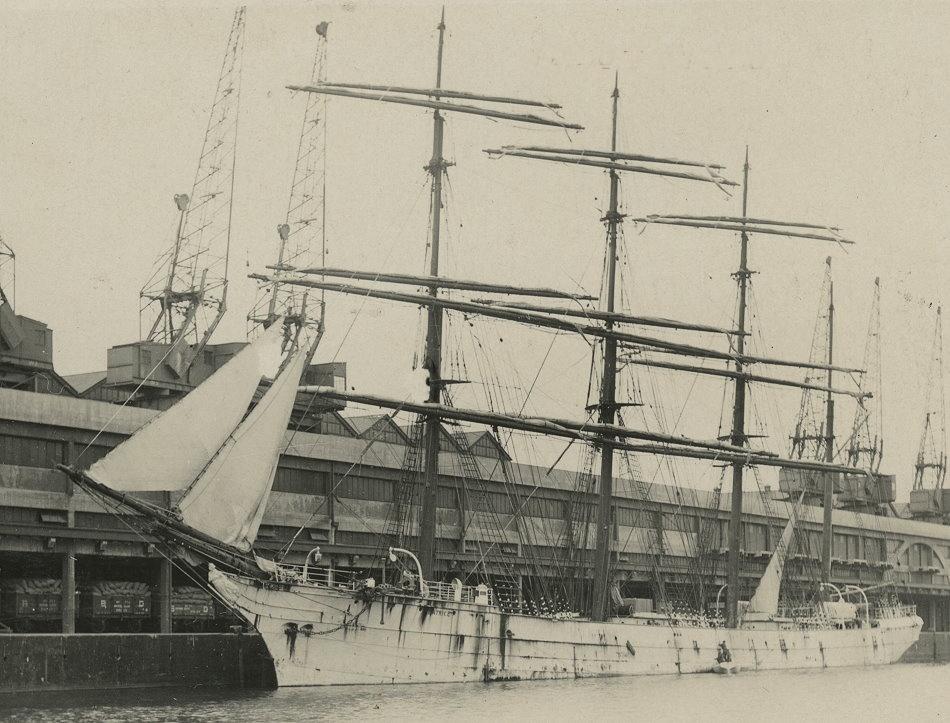 tall ship in avonmouth