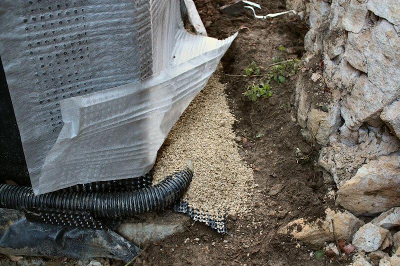 Foundation Wall Drainage System
