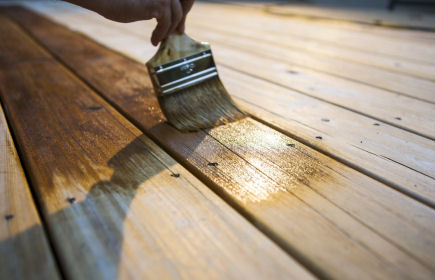 how to treat decking