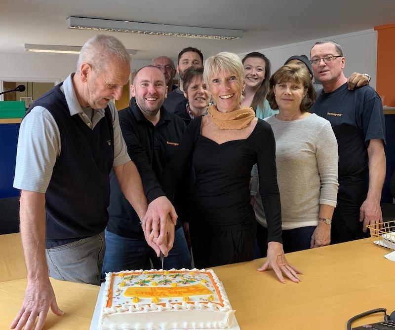 Permagard team celebrates the companies 30th birthday