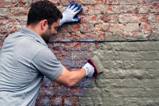 tanking a cellar wall