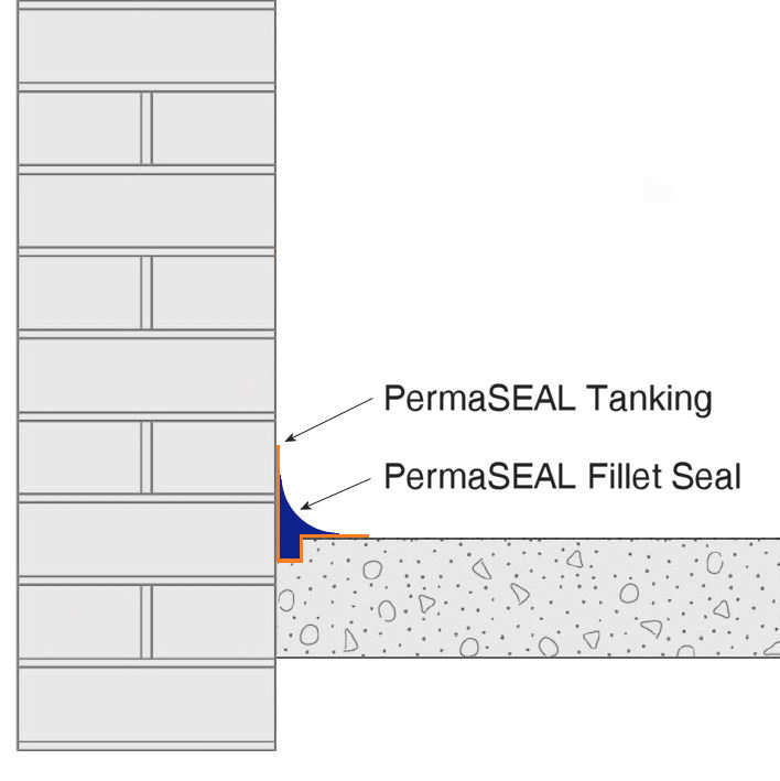 PermaSEAL Fillet Seal Tech Drawing 2