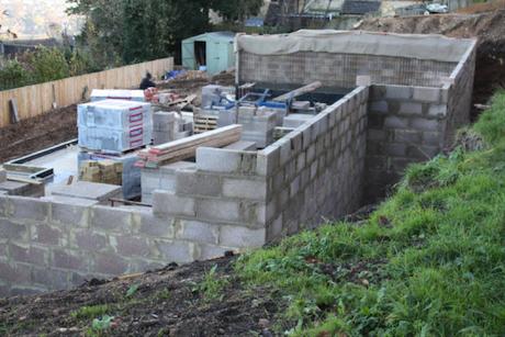 external waterproofing during construction