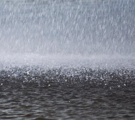 rain in winter