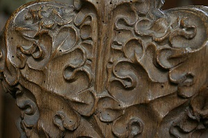 Woodworm antique furniture