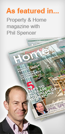 As featured in Proprty and Home magazine with Phil Spencer